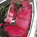 Fascinating Universal Car Seat Covers Plush fabrics - Rose