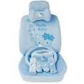 Hello Kitty OULILAI Car Seat Covers Plush fabrics - Blue