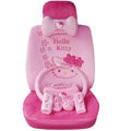 Hello Kitty OULILAI Car Seat Covers Plush fabrics - Pink