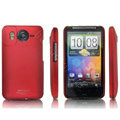 IMAK Slim Scrub Silicone hard cases Covers for HTC DHD Inspire 4G A9192 - Red