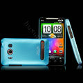 IMAK Slim Scrub Silicone hard cases Covers for HTC EVO 4G A9292 - Blue