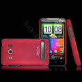 IMAK Slim Scrub Silicone hard cases Covers for HTC EVO 4G A9292 - Red