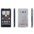 IMAK Ultra-thin Scrub Transparency cases covers for HTC EVO 4G A9292 - White