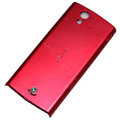 Original battery back cases covers for Sony Ericsson Xperia ray ST18i - Red