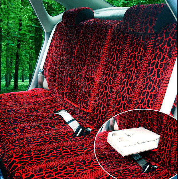 Buy Wholesale Snake Print Auto Car Front Rear Seat Covers