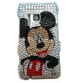 Bling Mickey Mouse Diamond Crystals Hard Cases Covers For Nokia N8