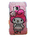 Bling Rabbit Diamond Crystals Hard Cases Covers For Nokia N8
