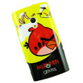 Angry bird Silicone Hard Cases Covers For Sony Ericsson X10i - Yellow EB002