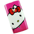 Hello kitty Silicone Hard Cases Covers For Sony Ericsson X10i - Rose