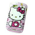 Hello kitty Silicone Hard Cases Skin For Blackberry Bold Touch 9900 - Pink
