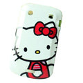 Hello kitty Silicone Hard Cases Skin For Blackberry Bold Touch 9900 - Red