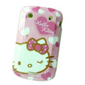 Hello kitty Silicone Hard Cases Skin For Blackberry Bold Touch 9900 - Rose