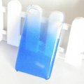 Gradient Blue Silicone Hard Cases Covers For iPhone 5G