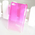 Gradient Pink Silicone Hard Cases Covers For iPhone 5G