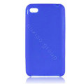 s-mak Color covers Silicone Cases For iPhone 5G - Blue
