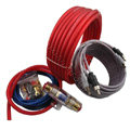 Car amplifier installation kit car speaker wire subwoofer amplifier connection speaker plug 5meter 10awg