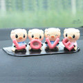 Car decoration accessories LOVE pigs Q-Version Cute pigs Send non-slip pad