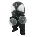 Suction cup Spider-Man doll Spider-Man doll Car decoration 12cm - Black