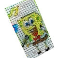 Cartoon bling crystal cases covers for your mobile phone model - Yellow EB012
