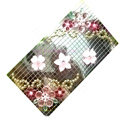 Flower 3D bling crystal cases skin for your mobile phone model - Pink