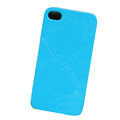 Ultrathin Color Covers Hard Back Cases for iPhone 4G - Blue