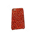 Bling covers All Point diamond crystal cases for iPhone 4G - Red