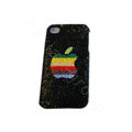 Bling covers Apple diamond crystal cases for iPhone 3G - Black
