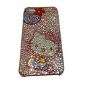 Bling covers Hello Kitty diamond crystal cases for iPhone 4G - Pink