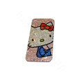 Bling covers Hello Kitty diamond crystal cases for iPhone 4G - White