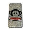 Bling covers Paul Frank Julius diamond crystal cases for iPhone 4G - Black