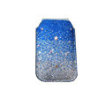 Luxury Bling Holster covers All diamond crystal cases for iPhone 4G - Blue