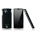 Nillkin skin cases covers for Sony Ericsson Xperia ray ST18i - Black (High transparent screen protector)