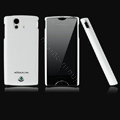 Nillkin skin cases covers for Sony Ericsson Xperia ray ST18i - White (High transparent screen protector)