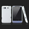 Nillkin scrub hard skin cases covers for HTC Salsa G15 C510e - White (High transparent screen protector)