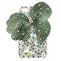 Bling Swarovski Butterfly crystal diamond cases covers for iPhone 4G - Green