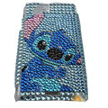 Cartoon bling crystals cases covers for Sony Ericsson Xperia Arc LT15I X12 LT18i - Blue
