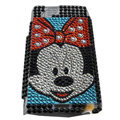 Mickey bling crystals cases covers for Sony Ericsson Xperia Arc LT15I X12 LT18i - Blue