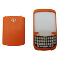 Front and Back Housing Case for Blackberry Curve 9300 Mobile Phone - Orange