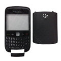 Front and Back Housing With Keypad Case for Blackberry Curve 9300 Mobile Phone - Black