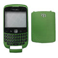 Front and Back Housing With Keypad Case for Blackberry Curve 9300 Mobile Phone - Green