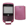 Front and Back Housing With Keypad Case for Blackberry Curve 9300 Mobile Phone - Pink