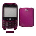 Front and Back Housing With Keypad Case for Blackberry Curve 9300 Mobile Phone - Rose