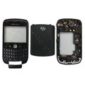 Front and Back Housing With Keypad Fullset for Blackberry Curve 9300 Mobile Phone - Black