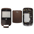 Front and Back Housing With Keypad Fullset for Blackberry Curve 9300 Mobile Phone - Coffee