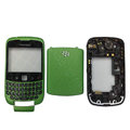 Front and Back Housing With Keypad Fullset for Blackberry Curve 9300 Mobile Phone - Green