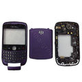 Front and Back Housing With Keypad Fullset for Blackberry Curve 9300 Mobile Phone - Navy