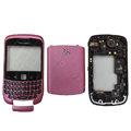 Front and Back Housing With Keypad Fullset for Blackberry Curve 9300 Mobile Phone - Pink