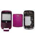 Front and Back Housing With Keypad Fullset for Blackberry Curve 9300 Mobile Phone - Purple