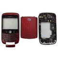 Front and Back Housing With Keypad Fullset for Blackberry Curve 9300 Mobile Phone - Red