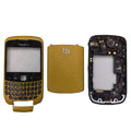 Front and Back Housing With Keypad Fullset for Blackberry Curve 9300 Mobile Phone - Yellow
